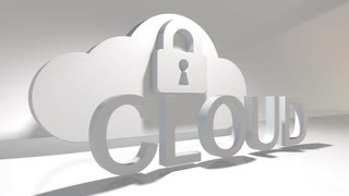 Safe cloud computing internet of things IoT online storage technology