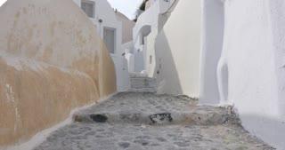 Santorini Greece - Oia famous of all village of Santorini Greek Islands