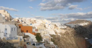 Santorini Greece time lapse, Oia in Greek Islands of Aegean
