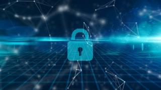 Secure fintech global money tansfer using blockchain encrypted digital money