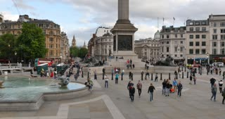 Trafalgar Square Central London City of Westminster England