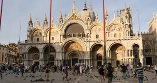 Venice Italy - Piazza San Marco, St. Mark's Basilic