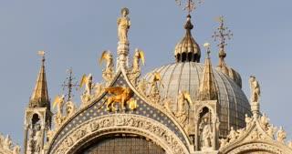 Venice Italy - Roof of St. Mark's Basilic