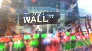 Wall Street New York City stock exchange global financial hub