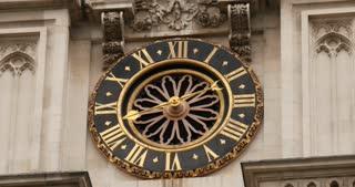 Westminster Abbey clock London United Kingdom