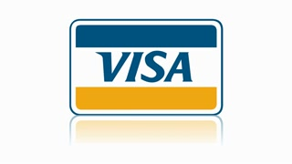 Visa logo online shopping payment e-commerce credit card