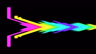 VJ DJ Equalise Levels Graphic Background