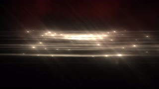 Warm Abstract Particle Effect Flashing Light VJ Background
