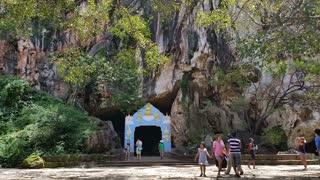 Wat Suwannakuha (Monkey temple) Thailand Temple Tourism