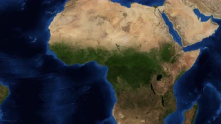 West Africa from space - slow zoom - Western Africa is the westernmost subregion of the African continent. West Africa has been defined in Africa as including the 18 countries