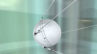 1957 Sputnik 1  first artificial earth satellite, space.