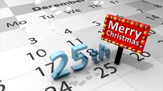 25th december Christmas celebration.