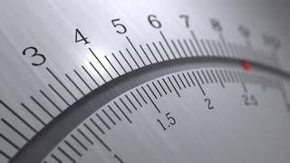 Analog multimeter, pin, meter, measure.