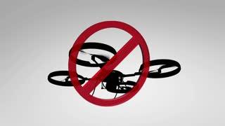 Artist render, No Fly Zone, Drone.