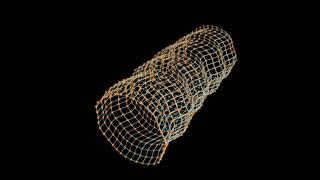 Artist visualise Gravitational wave.
