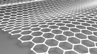 Atomic-scale honeycomb carbon atom, world's strongest material, Graphene.