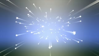 Background animation, Shooting star, abstract