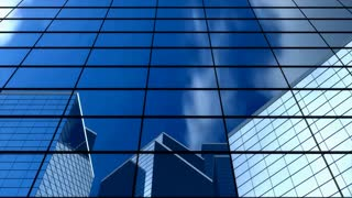 background, building, office, windows, glass, blue, bank, headquarter
