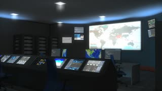 Command center(enhanced version), control, military, monitor, security, space, global.