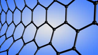 Computer-graphic generated animation of single-wall Carbon nanotube.