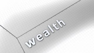 Concept animation, growing chart - Wealth.