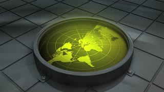 Concept animation, world, search, find, world radar, trace, location, detech, sonar.