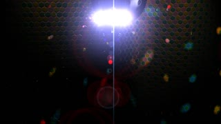 Conceptual disco light 3d animation.