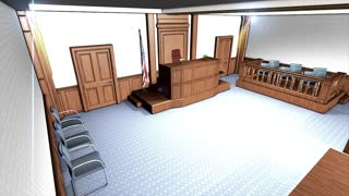 Courtroom, justice system, civil, law, room, prosecution, offender.