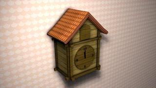 Cuckoo clock, time, classic, bird, woody, alarm.
