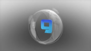 Futuristic enigma orb countdown, digital, timer, time.