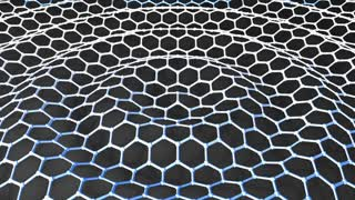 Graphene honeycomb