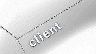 Growing chart graphic animation, Client.