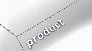 Growing chart graphic animation, Product.