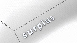 Growing chart graphic animation, rising surplus.