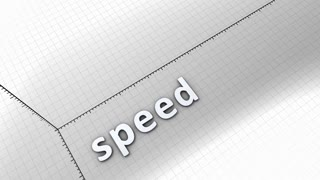 Growing chart graphic animation, Speed.