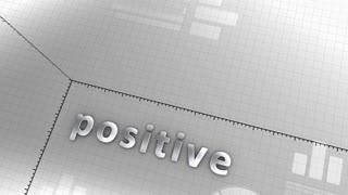Growing chart Positive