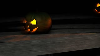Halloween pumpkin animation, creepy, funny, fun, season, holiday, kids.