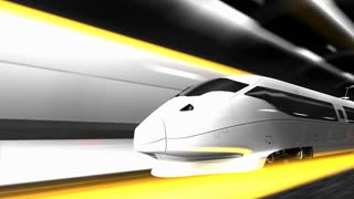 High speed rail, transit, transportation, system, train.