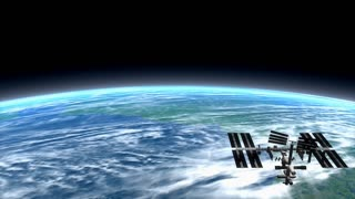 ISS, Low orbit, beautiful, clouds, planet, science, sky, space, surface, Earth