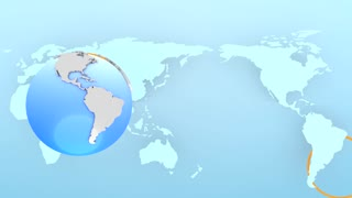 Modern globe background, executive, background, business, presentation.