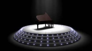 Piano stage, podium