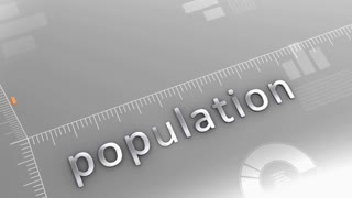 Population decreasing chart, statistic and data