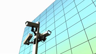 Public surveillance camera, cctv, monitor, police, state, authority.