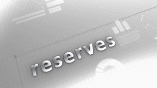 Reserves growing chart, statistic and data