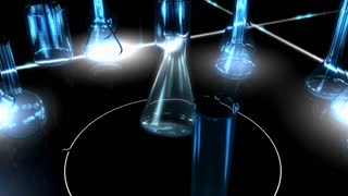 Scientific graphic animation, chemistry, research, medical, technology, biology, scientific, test.
