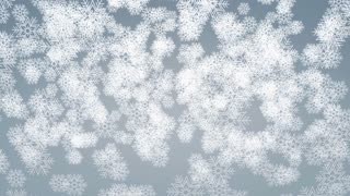 Snowfall animation, background, abstract, Christmas, holiday, snowflake.
