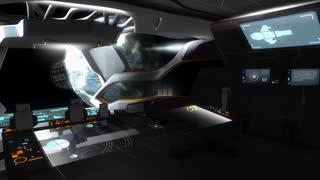 spaceship, fiction, cockpit, control, system, center
