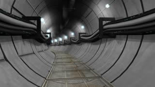 Underground cables, gas, utility tunnel