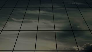 Airport glass building, departing flight.