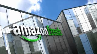 Editorial, Amazon Fresh building
